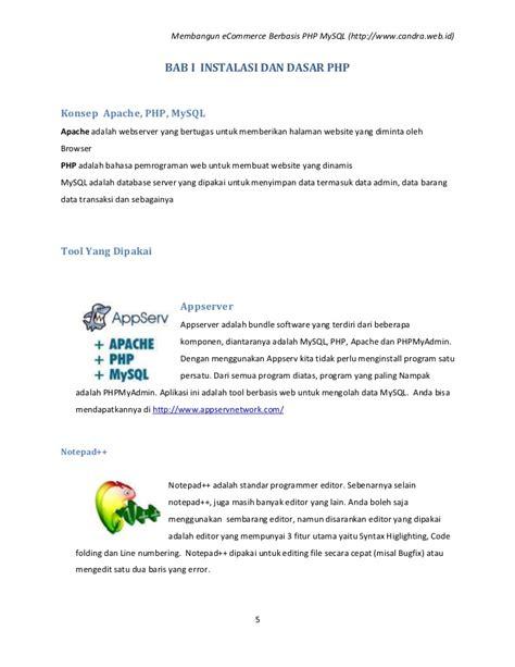membuat form login dengan php e commerce dengan php mysql docx