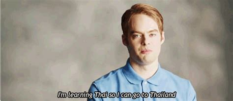 rosetta stone snl bill hader comedy gif find share on giphy