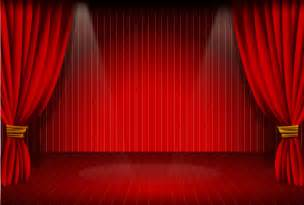 White Theater Curtain » Home Design 2017