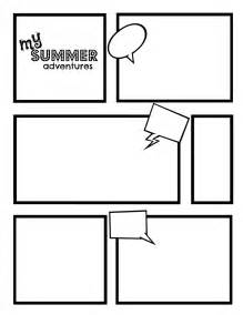 Make Your Own Comic Book Template by Diary Of A Wimpy Kid Eager Readers