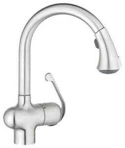 Grohe Kitchen Faucets Replacement Parts by Grohe 33755sd0 Dual Spray Pull Down In Stainless Steel