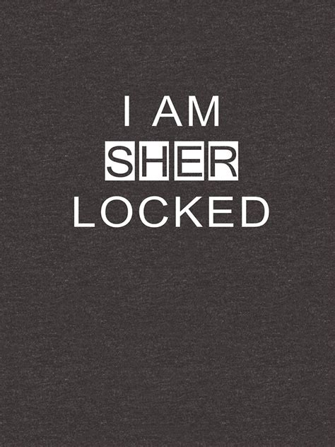 Kaos I Am Sher Locked i am sher locked t shirt from sherlock armur animates