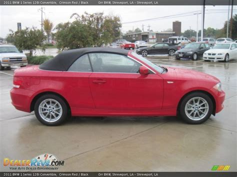 2011 Bmw 128i by 2011 Bmw 1 Series 128i Convertible Crimson Black