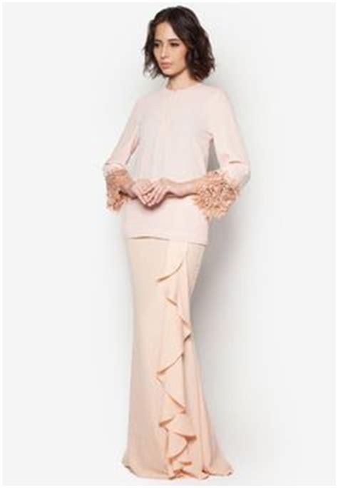 Overall Dress Wanita baju kurung moden lace minimalis baju raya 2016 fesyen trend terkini fesyen trend terkini