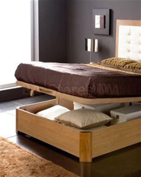 platform bed storage on