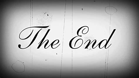The 1 2 End By Rikachi the end with sound v1 filmmaterial getty images