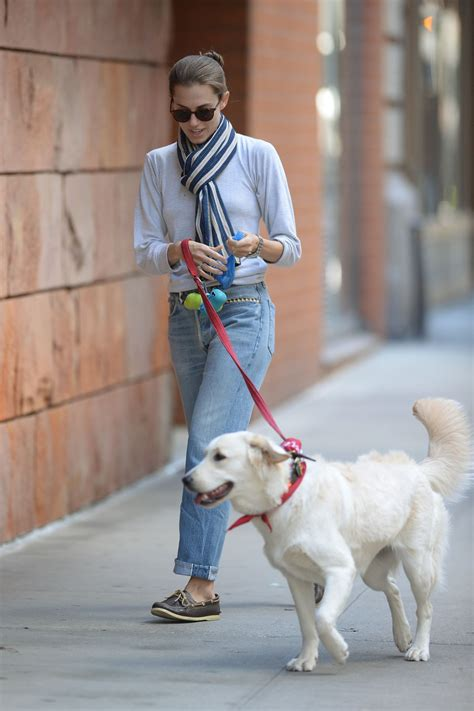 williams dogs allison williams walks out in new york 10 05 2015 hawtcelebs