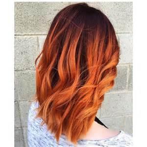 burnt hair color rude sombre modna koloryzacja na jesień co powiecie na