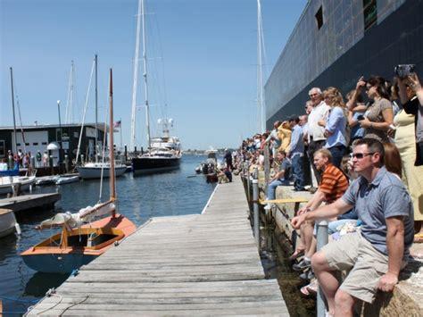 public boat launch rhode island iyrs celebrates graduation and boat launches newport ri