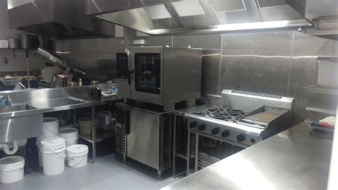 modern commercial kitchen is your commercial kitchen small