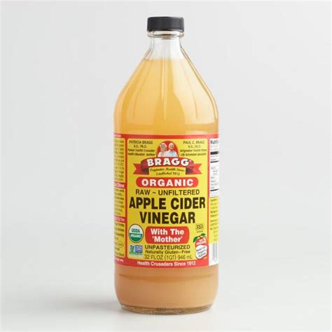 apple cider vinegar bragg bragg organic raw apple cider vinegar world market
