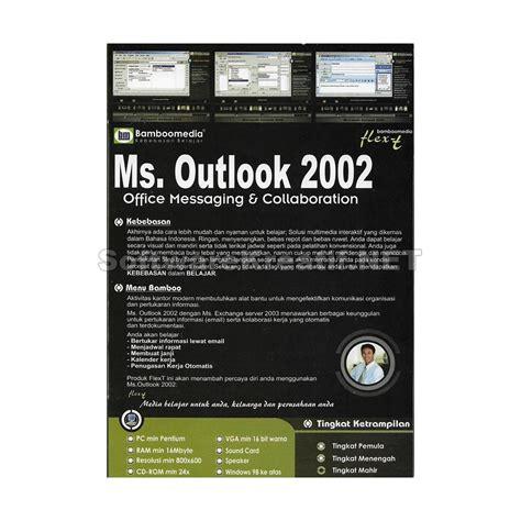 Mengelola Beban Email Dengan Microsoft Outlook 2002 jual cd tutorial microsoft outlook 2002