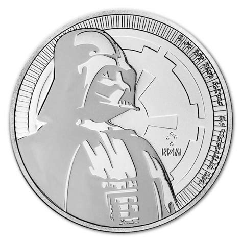 Coin Wars 2017 2017 1oz niue 2 nzd wars darth vader silver coin bu european mint