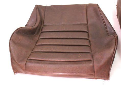 brown vinyl front seat cover   vw rabbit mk genuine carpartssale
