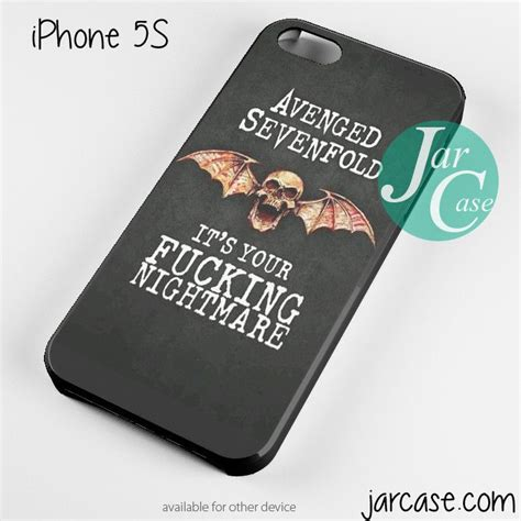 Avenged Sevenfold Logo Iphone 4 4s 5 5s 5c 6 6s 7 Plus 82 best images about avenged sevenfold stuff on leather wristbands fan and