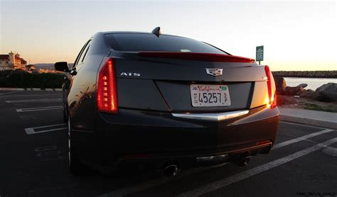 cadillac ats 3 6 exhaust 2017 cadillac ats 3 6 performance road test review by