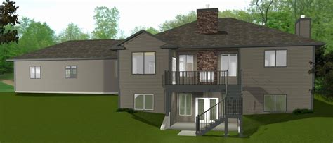 walkout basement house plans wood new home design find