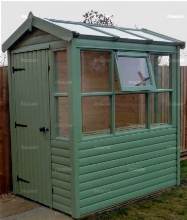 potting shed  painted