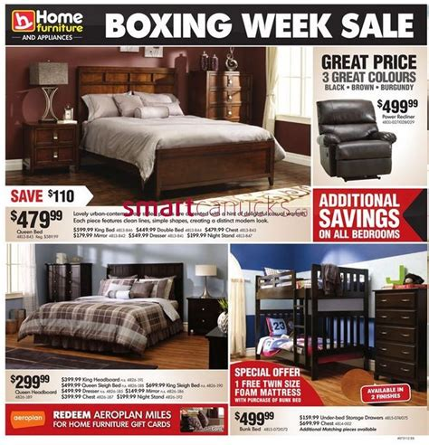 home furniture  appliances boxing week sale