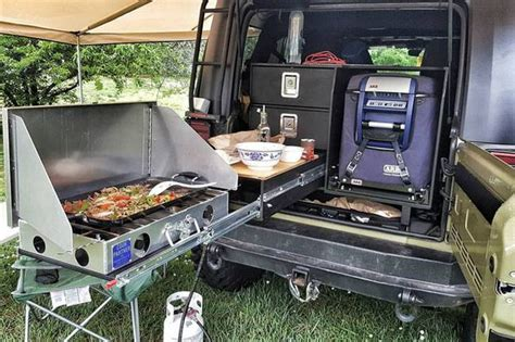 overland jeep kitchen man s compact diy cing kitchen system means better off