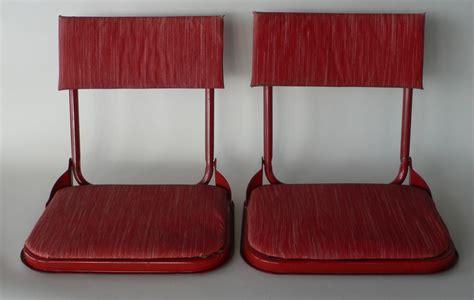 bleacher chairs with backs vintage stadium seats bleacher backs fishing by