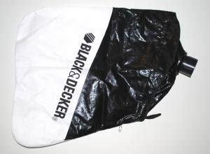 black decker gw 150 garden vac collection bag to suit black and decker