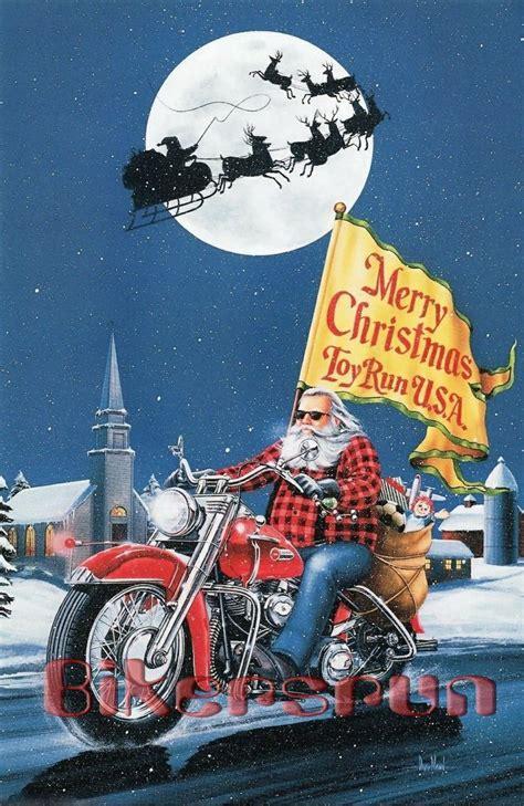 merry xmas toy run january  motorcycle christmas