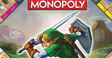 legend of zelda monopoly map fight over hyrule castle in legend of zelda monopoly
