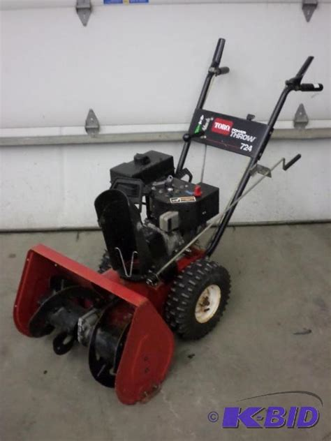 image gallery toro 724 snowblower