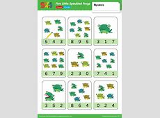Five Little Speckled Frogs – Count & Circle   Super Simple Milo Tree