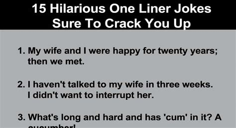 printable one liner jokes 15 hilarious one liner jokes sure to crack you up