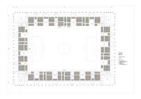 football stadium floor plan lasesarre football stadium no mad archdaily