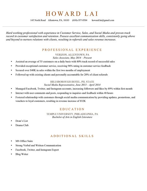 Resume Bullet Points For Business Owner Bullet Points Exles Resume Format Web Updated Click To Enlarge Data Scientist 7 If You