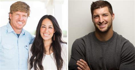 chip and joanna gaines contact chip and joanna gaines announce new partnership with tim tebow