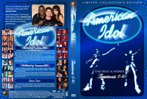 The Last American Dvd American Idol The Best Worst Of Custom Tv Dvd Custom Covers 2118amer Idol Best Worse