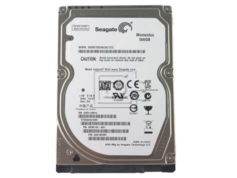 Hardisk Seagate 500gb Second seagate momentus st9500424as 500gb sata drive