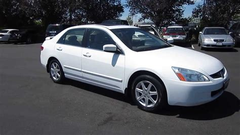 honda accord 2003 2004 2004 honda accord white stock 730998