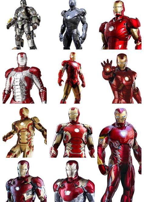main iron man suits iron man iron man