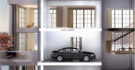 Apartment With Sky Garage Apartments That Allow You To Park Your Car In Balcony