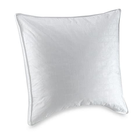 bed bath and beyond feather pillow white goose feather european square pillow bed bath beyond