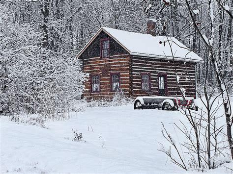 Winter Cabin Winter Cabin Photograph By Judy Johnson