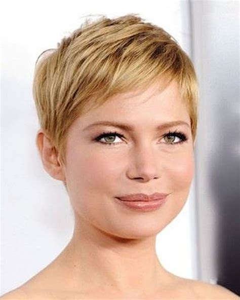 hairstyles fine hair round face over 50 crop super very short pixie haircuts hair colors for 2018