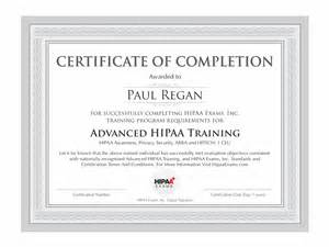 word document template certificate of completion graphic