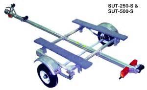 pontoon roller rs trailex sut 500 s medium duty small boat trailer