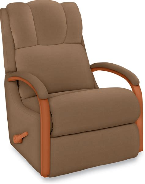 recliners small spaces bedroom modern brown vinyl reading chair with adjustable