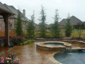 landscaping ideas around pool around pool landscape redbud design