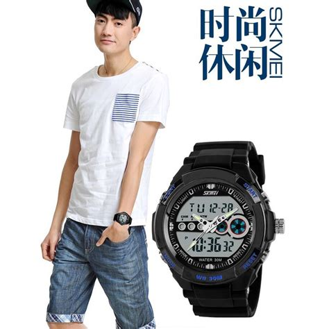 Skmei Casio Sport Led Water Resistant 30m Ad0942 Black skmei casio sport led water resistant 30m ad0942 pink jakartanotebook