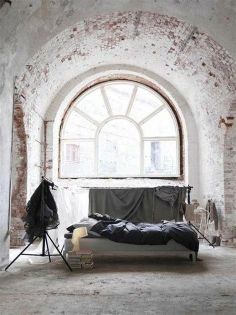 Briques Peintes En Blanc by La Chambre 224 Coucher En Briques Et Pierres 43 Propositions
