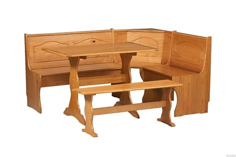 Pine Kitchen Nook by Breakfast Nook Dining Set Country Kitchen Table Booth