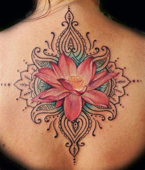 37 graceful lotus tattoos designs